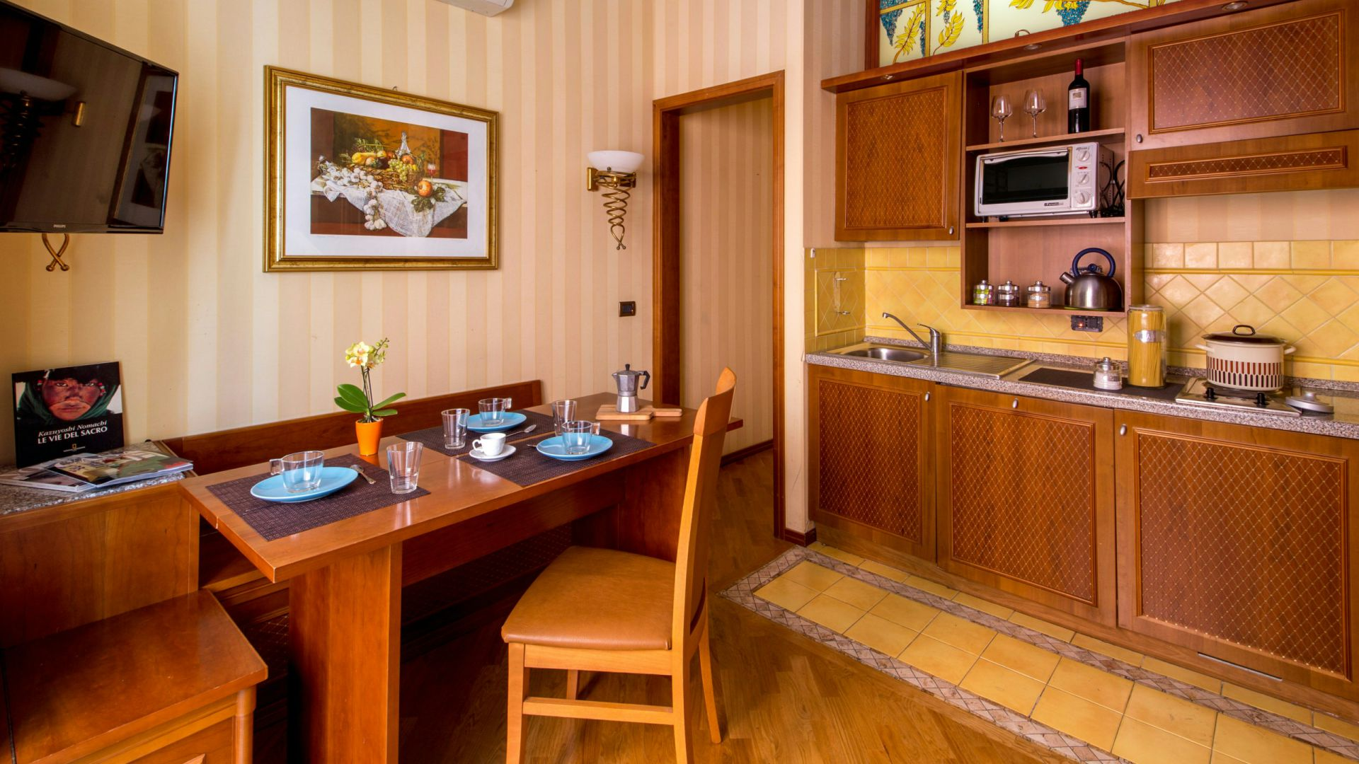 Photo-Hotel-Oxford-Rome-kitchen-apartment
